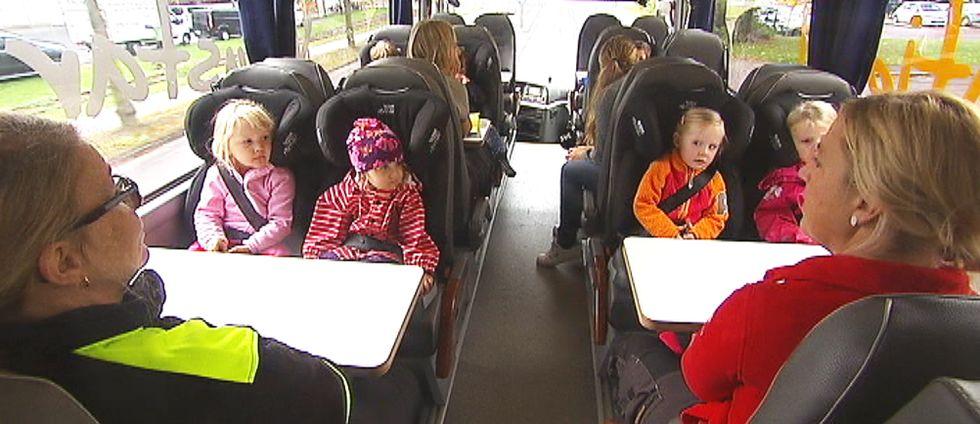 Häng med ombord – här ger barnen dig en guidad visning