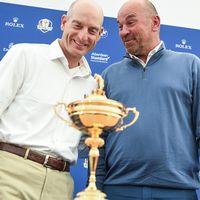 Jim Furyk och Thomas Björn.