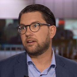 Sverigedemokraternas partiledare Jimmie Åkesson gästade SVT:s Morgonstudion.