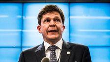 Moderaten Andreas Norlén valdes på måndagen till ny talman i riksdagen