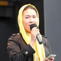Fatemeh Khavari, talesperson för Ung i Sverige.