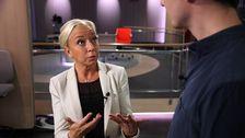 SVT:s politikreporter Elisabeth Marmorstein.