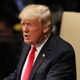 Donald Trump talar inför FN.