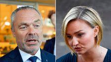 Jan Björklund (L) och Ebba Busch Thor (KD).