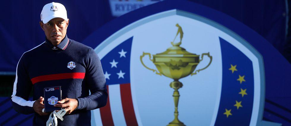 Ingen kan matcha Tiger Woods stjärnstatus i årets Ryder Cup.