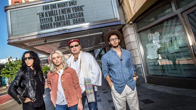 Kvall i new york