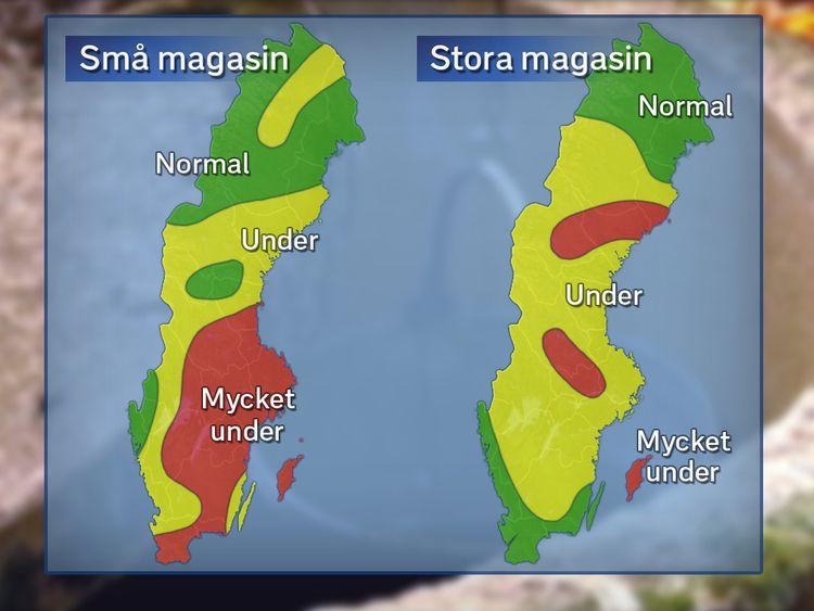 Grundvatten I November Svt Nyheter