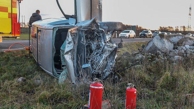 Flera allvarliga olyckor i skane