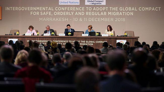 FN-länder har godkänt global migrationspakt