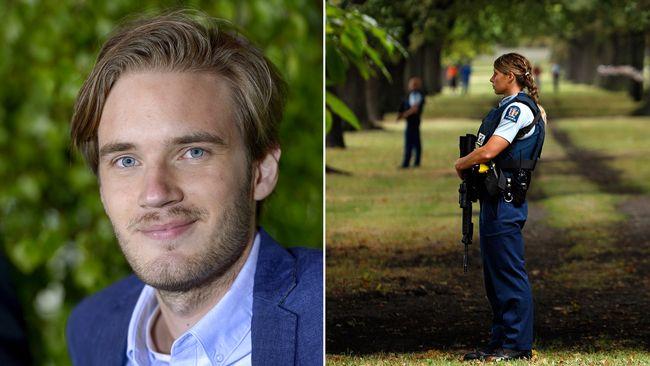 Terrordåd I Nya Zeeland Gallery: Svenska Youtubern Pewdiepie Om Terrordådet I Nya Zeeland