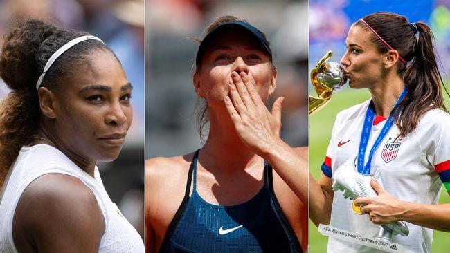 Sportlovin: Hon är bäst betalda idrottskvinnan i världen