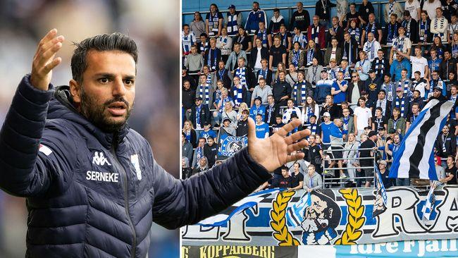 """Blåvitts coach: """"Inte realistiskt med guldstrid"""""""