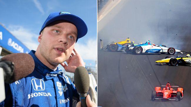 """Felix Rosenqvist: """"Det var lite bisarrt"""""""