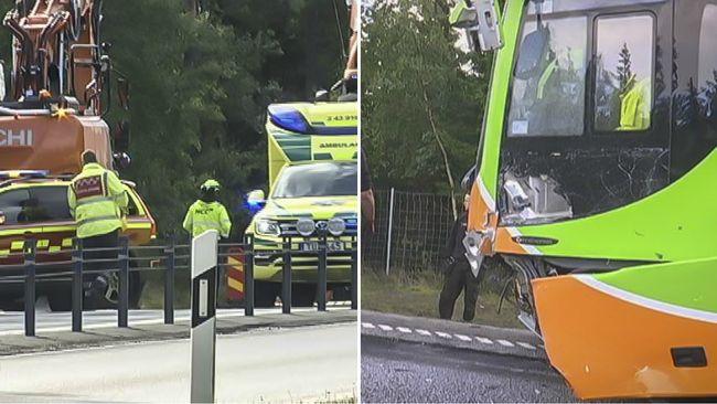 Busschaufför döms efter olycka – körde in i arbetsfordon