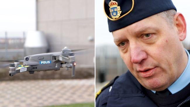 Polisen i Uppsala övervakar Gränby, Sävja, Gottsunda och Stenhagen med drönare