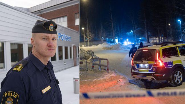 """Polisen om skjutningen på Ersboda: """"Dödsskjutningen ett av våra högst prioriterade ärenden"""""""