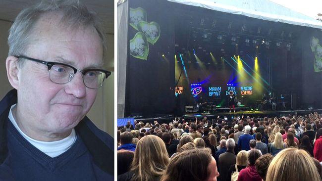 Storsjöyrans Lars Sillrén får livemusikbranschens hederspris