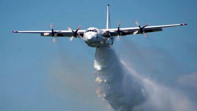 Brandbekämpningsflygplan i Ausralien störtade