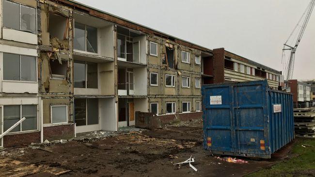 198 bostäder byggs på Drottninghög – material från rivna hus används