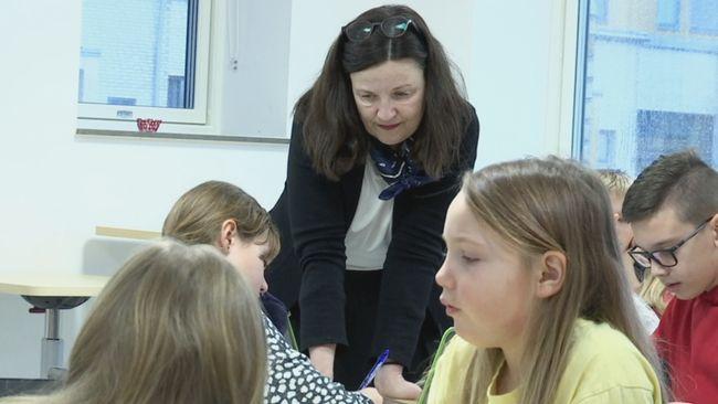 Utbildningsministern praktiserade som lärare i Trelleborg