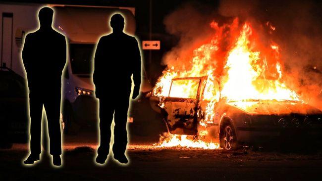 Greps i samband med bilbränder i Sätra – två häktades i dag