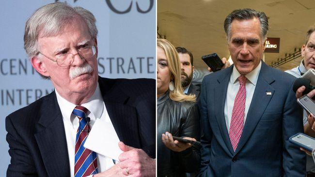 Republikaner svänger om John Bolton som vittne i Trump-processen