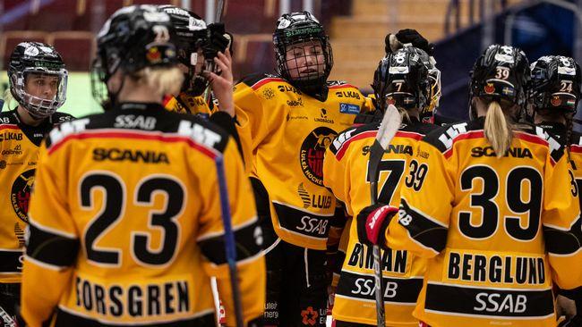 Topplagen med storsegrar när slutspelet i SDHL inleddes