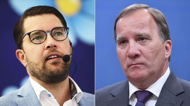 SD största parti i ny mätning – S fortsätter tappa