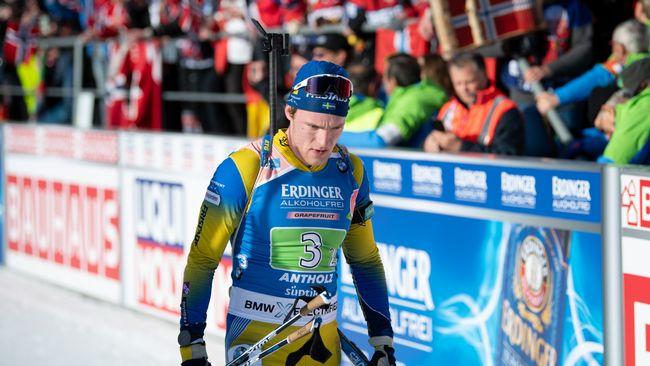 Samuelsson bommade i medaljläge
