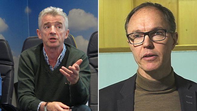 """Kommundirektören om mötet med Ryanair: """"Ett tydligt budskap från Michael OLeary"""""""