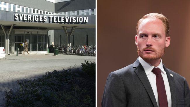SD vill kalla in SVT-chefer till riksdagen: Public service är partiska