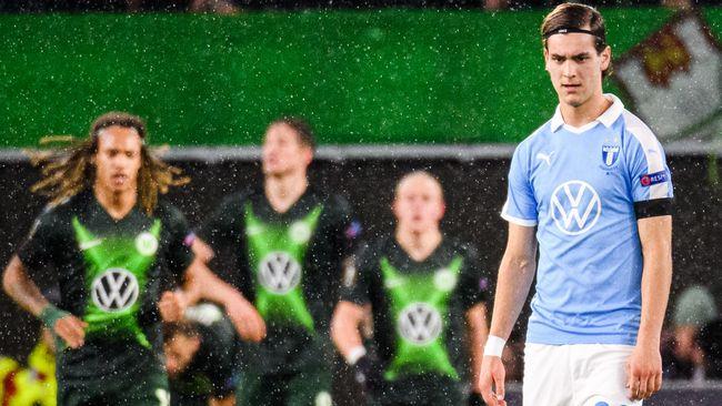 Malmö FF tappade 1–0 till 1–2 mot Wolfsburg i Europa League