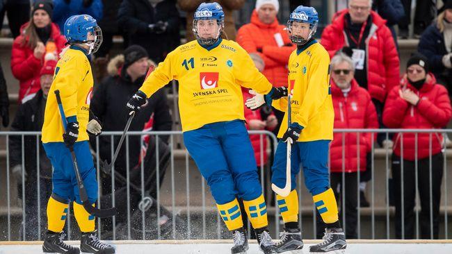 Sverige till final i bandy-VM