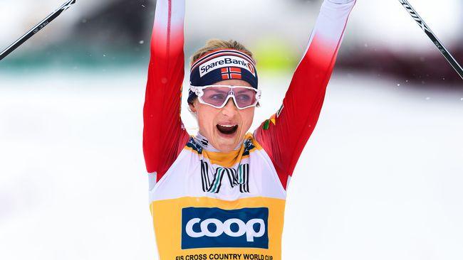 Johaug överlägsen vinnare i Ski Tour