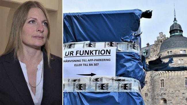 Örebros nya p-automater drar ut på tiden