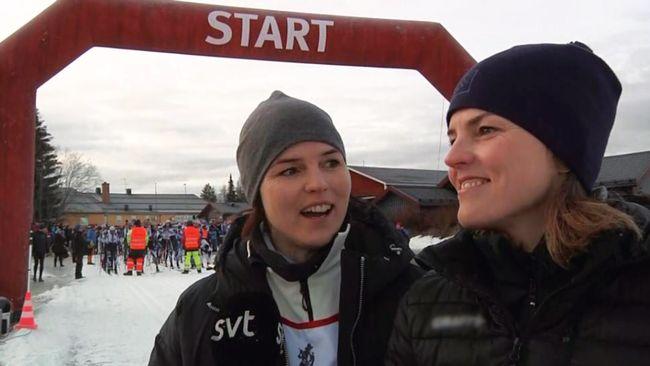 """Systrarna Kallur på startlinjen för Vasaloppet 45 – """"Längsta vi någonsin åkt"""""""