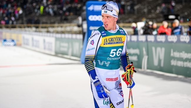 Halfvarsson tillbaka i träning – men tävlar inte i Lahtis