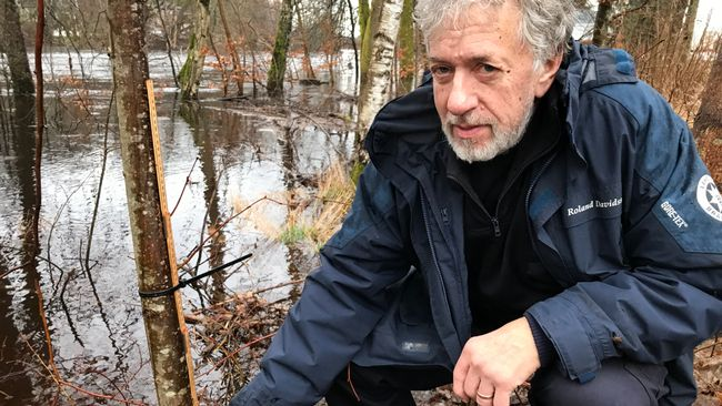 Vattnet i Lagan stiger igen