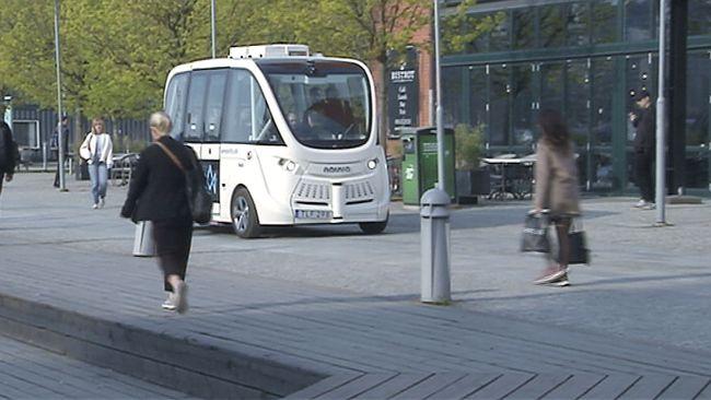Självkörande bussar kan bli verklighet i Östersund