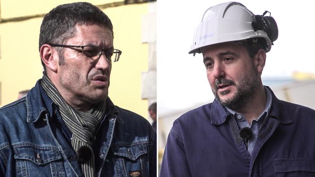 Protest i Spanien mot nedläggning av kolkraftverk