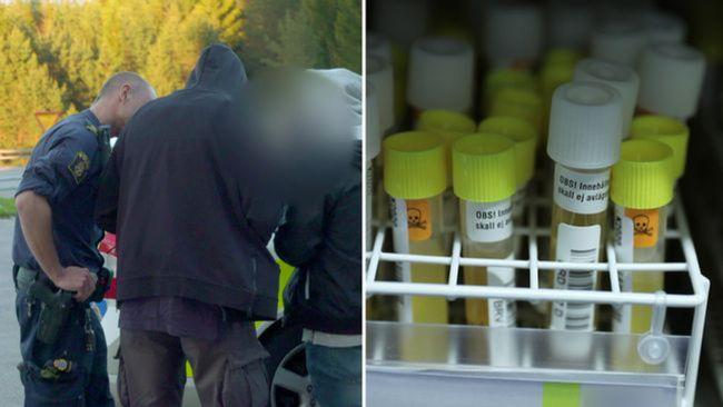Polisen drogtestar rekordmånga