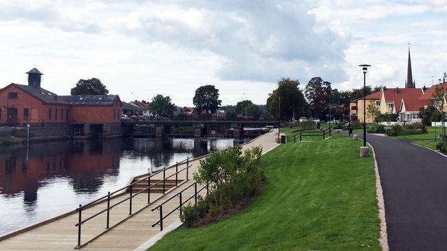 Herrgårdsbron i Arboga åter avstängd för biltrafik