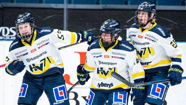 Djurgården pressade HV71 – men föll i tredje