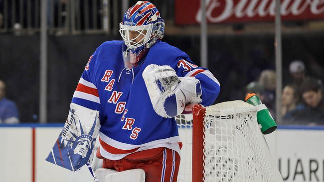 Tungt när Lundqvist fick chansen i Rangers-kassen