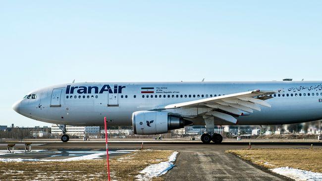 Folkhälsomyndigheten vill få iranskt flygbolag prövat