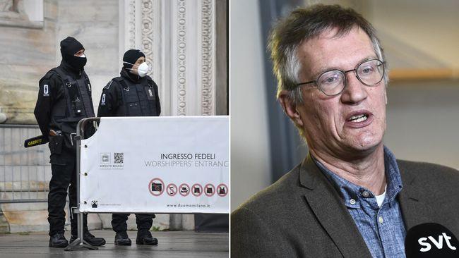 Inga reserestriktioner till Italien – trots stigande dödstal