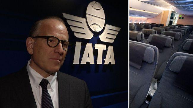 Krisläge för flygbolagen efter coronavirusets spridning