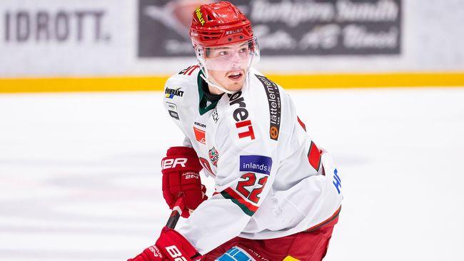 Jonathan Johnson slog poängrekord i hockeyallsvenskan