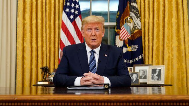 Trump: USA stoppar resor från EU