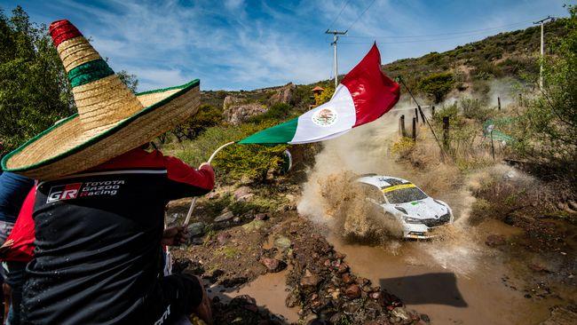 Rally-VM i Mexiko avbryts